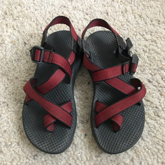 613bdfc44e7a Chaco Shoes - Red Chacos Women s 5